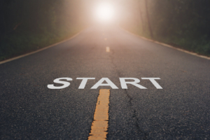 Road with light at the end with start at the beginning. Online DBT therapy is the beginning of the journey to better health. Learn about what is dialectical behavioral therapy and how DBT PE in Las Vegas and Los Angeles can support you. Call now!